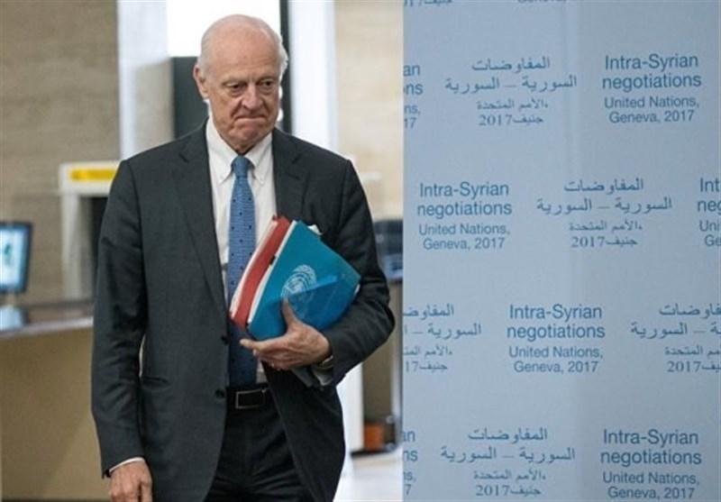 UN Syria Envoy Due in Tehran Saturday