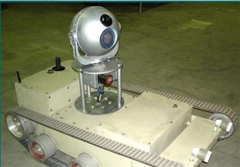 ساخت ایران ربات شناسایی ARIO-RS01 + عکس