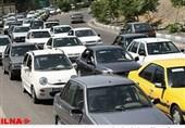 قزوین| ترافیک در آزادراههای استان قزوین سنگین است