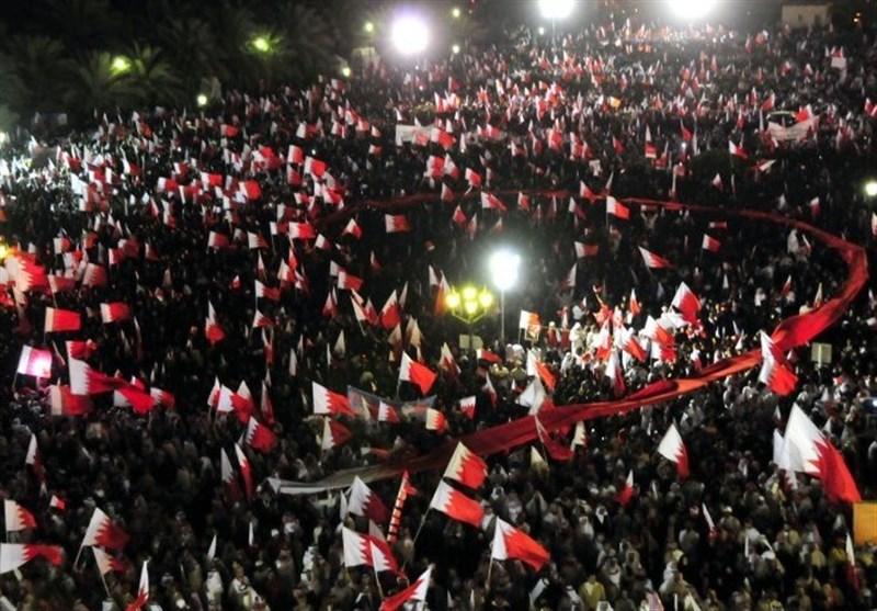 شعارات ثوریة على الجدران.. وتظاهرات تدعو إلى إسقاط النظام الخلیفی