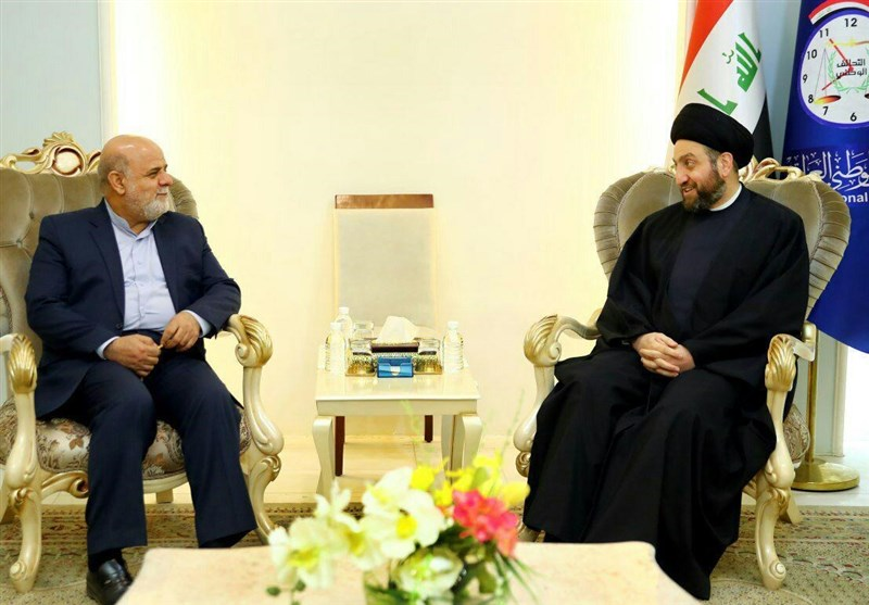 Envoy, Politician Discuss Iran-Iraq Ties