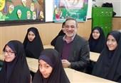 طنین زنگ انقلاب با حضور وزیر آموزش و پرورش در دبستان رفاه