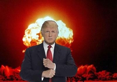 پایگاه آمریکایی: ترامپ در حال مقدمه چینی جنگ هسته ای است