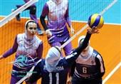 لیگ برتر والیبال بانوان  پیروزی پیکان برابر ستارگان فارس