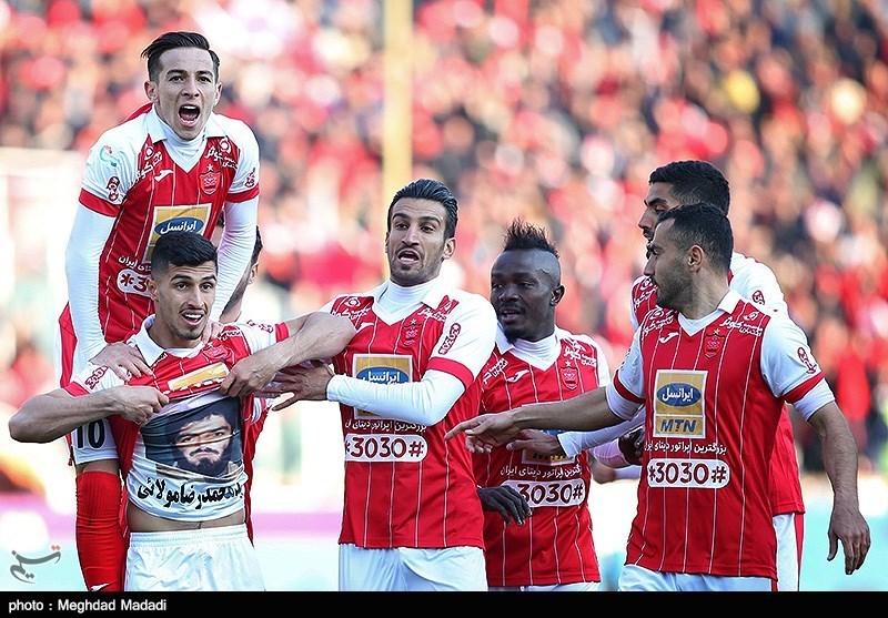جدول لیگ برتر فوتبال در پایان هفته بیستوسوم؛ پرسپولیس اختلافش را به عدد 16 رساند