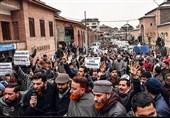 تصاویر اختصاصی/ادامه اعتراضات مردمی در کشمیر اشغالی