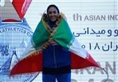دوومیدانی داخل سالن آسیا  توکلی رکورد پرش ارتفاع ایران را شکست