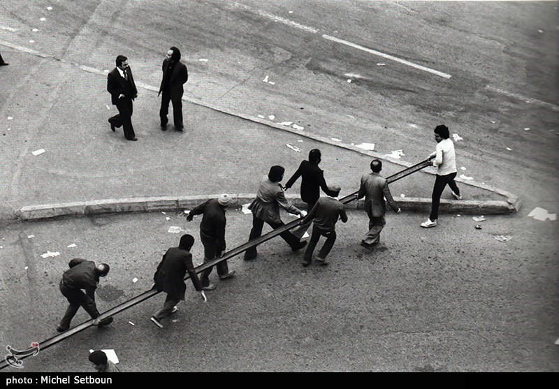 صور تروی جانباً من الثورة الاسلامیة