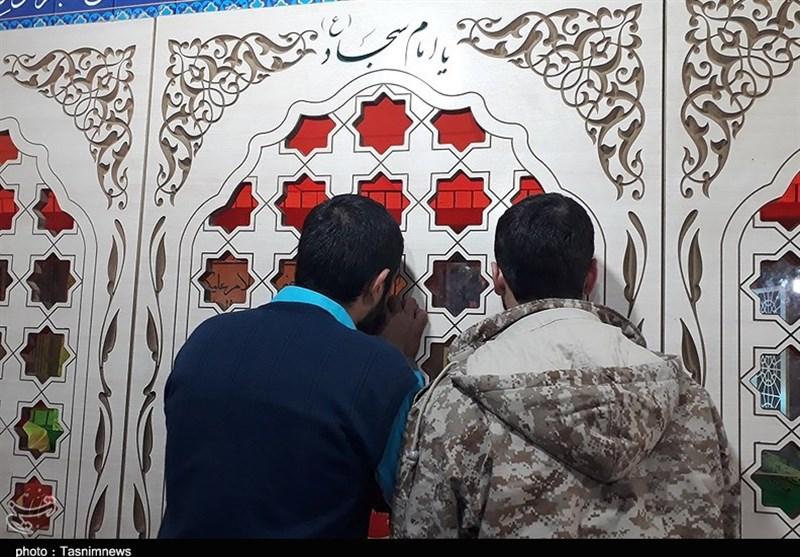 اهواز| جوانان اهوازی پیکر شهدای تازه تفحص شده را زیارت کردند