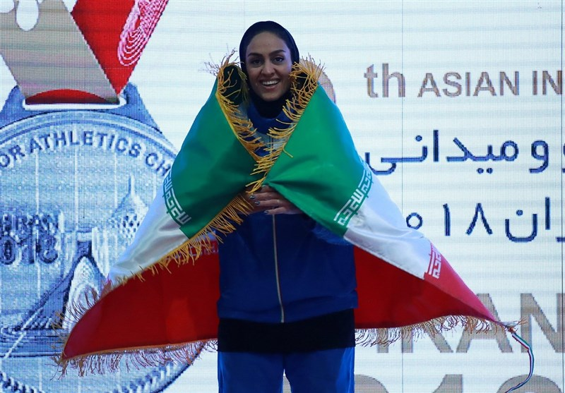 Sepideh Tavakoli Wins Iran's Fourth Gold at Asian Indoor Championships