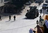 8 زخمی در یورش نظامیان صهیونیست به نابلس