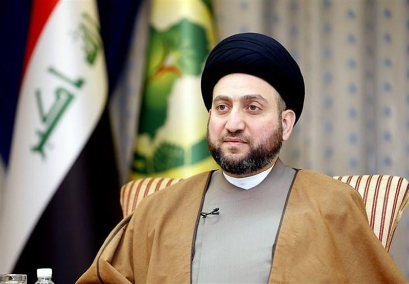 السید عمار الحکیم یهنىء رئیسی بفوزه بالانتخابات الرئاسیة