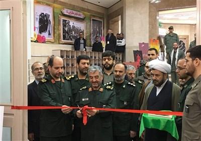 نمایشگاه جلوه های تحول دانشگاه جامع امام حسین(ع) افتتاح شد+ تصویر