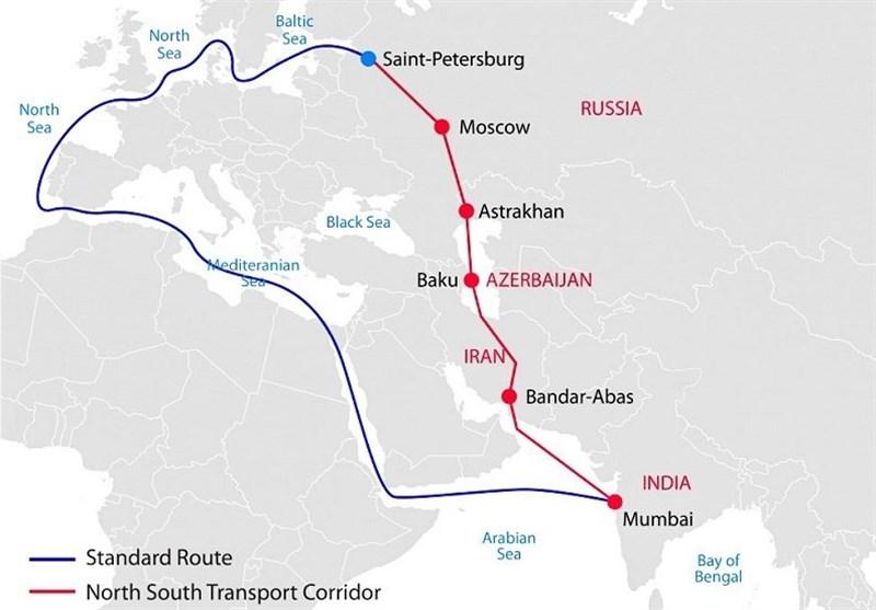 خط اعتباری 3 میلیارد یورویی روسیه برای کریدور شمال - جنوب ایران