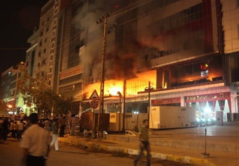 Fire at Iraqi Hotel Kills 2 Iranians