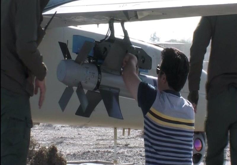 """افتتاح خط انتاج طائرة """"مهاجر 6"""" المسیرة والمزودة بقنابل """"قائم"""" الذکیة +صور"""