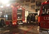گرفتار شدن 35 نفر به خاطر آتشسوزی در یک انباری + تصاویر