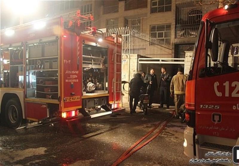گرفتار شدن 35 نفر به خاطر آتشسوزی در یک انباری