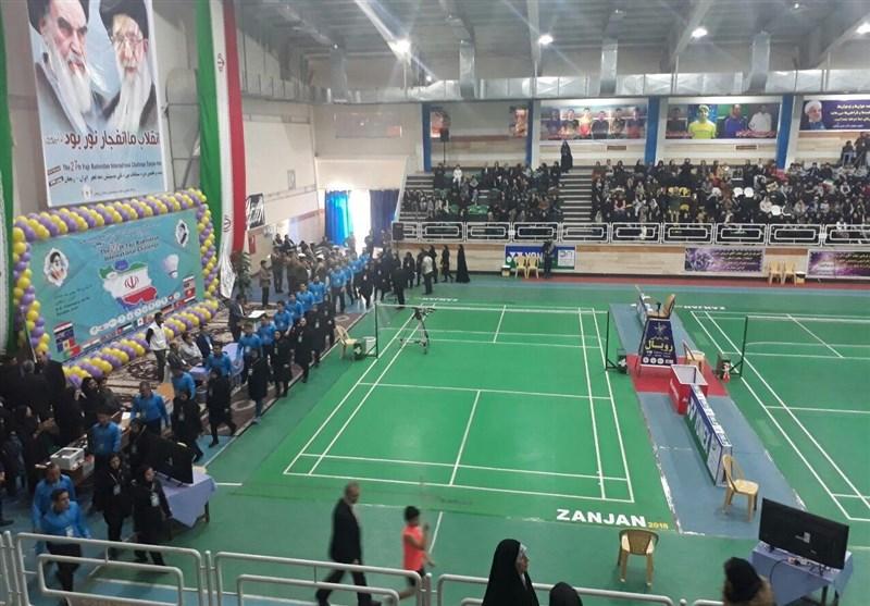 راهیابی ملی پوشان بدمینتون ایران به مرحله نیمه نهایی مسابقات یک نفره غرب آسیا