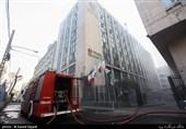 تخلیه ساکنان 5 ساختمان مجاور ساختمان برق حرارتی ولیعصر / ادامه عملیات تخلیه دود
