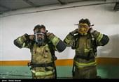 نفوذ آتشنشانان به طبقه منفی 3 ساختمان برق حرارتی/ احتمال ریزش ساختمان دور از ذهن نیست