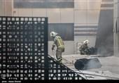 نشست اضطراری کمیته بحران حادثه آتش سوزی با حضور وزیر نیرو + عکس