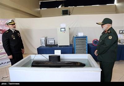 إزاحة السّتار عن محرک المروحة الدّافعة للقوارب السّریعة