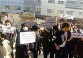 واکنشها به تصمیم آموزش و پرورش; تجمع دانشآموزان معترض به حذف مدارس سمپاد