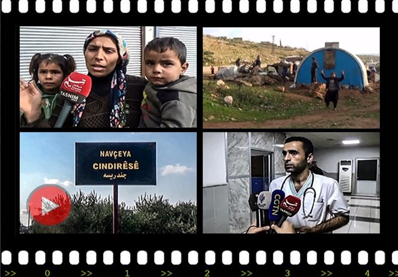 مطالب أهالی عفرین من الحکومة السوریة بعد الهجوم الترکی على أرضهم +فیدیو