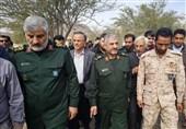 فرمانده سپاه از پروژههای محرومیتزدایی استان کرمان بازدید کرد