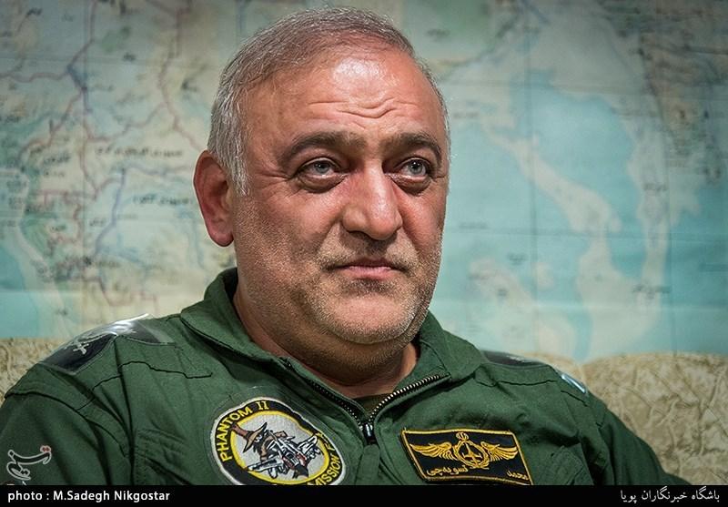 فرمانده پایگاه هوایی تهران: در تعمیر جنگنده میگ 29 خودکفا شدیم/ تست موشک هواپایه در کنار ناو انگلیس