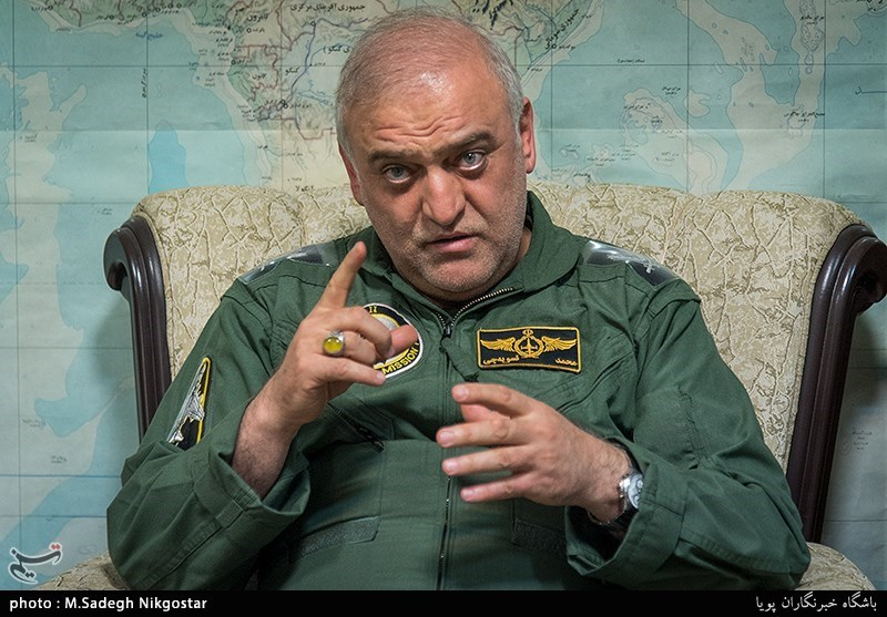 """قائد قاعدة طهران الجویة لـ""""تسنیم"""": حققنا الاکتفاء الذاتی فی صیانة طائرات """"میغ 29"""""""
