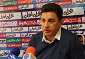 اهواز| قلعهنویی: عدالت در بازی ما مقابل فولاد خوزستان رعایت نشد/ مدیران ما آیندهنگر نیستند