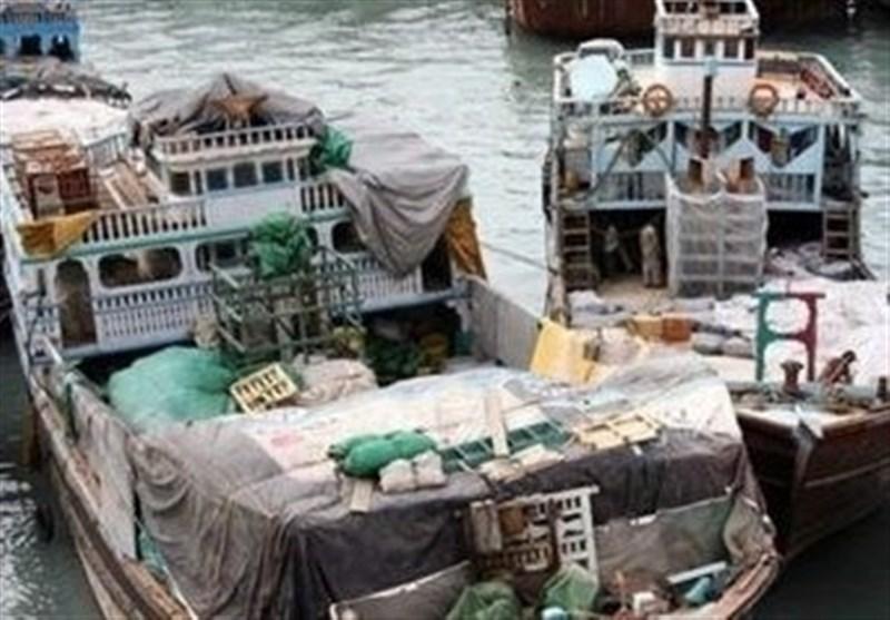هرمزگان|کشف 10 میلیارد کالای قاچاق توسط دریابانی ابوموسی و پارسیان