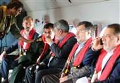 هرمزگان بازدید هوایی وزیر کشور از شش جزیره و گذرگاه های مرزی