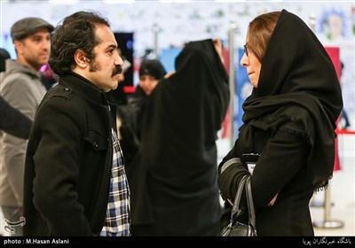 افشین هاشمی بازیگر در ششمین روز سیوششمین جشنواره فیلم فجر
