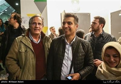 عادل فروسی پور مجری و مجید مظفری بازیگر