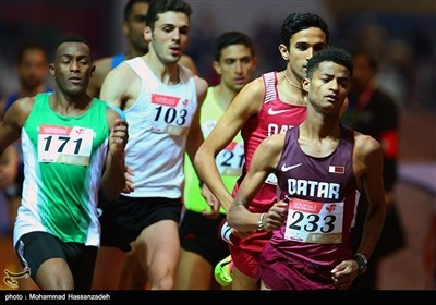 تہران میں بین الاقوامی ایتھلیٹکس مقابلوں کا انعقاد