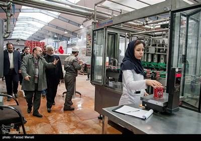 بازدید سعید جلیلی از کارگاه های اقتصاد مقاومتی و دیدار با کارآفرینان