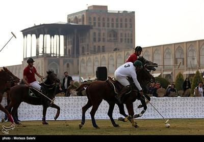 مسابقه نمادین چوگان در میدان نقش جهان - اصفهان