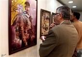 """""""الفن الإیرانی المعاصر"""" معرض لخمسة فنانین إیرانیین فی العاصمة دمشق +فیدیو وصور"""