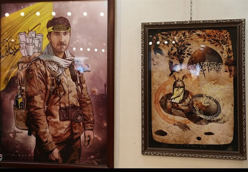 تحولات سوریه | «هنر معاصر ایران » ؛ استقبال چشمگیر سوریها از آثار هنرمندان ایرانی
