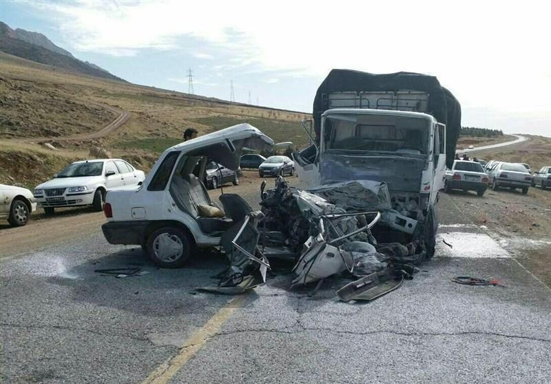 کرمانشاه| تصادف رانندگی در روانسر 4 کشته و یک زخمی برجای گذاشت
