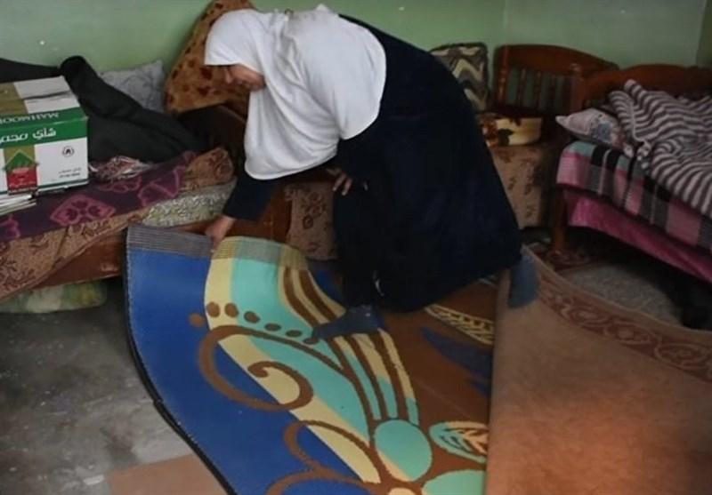 مادر عراقی که پسرش را در اتاق خانه دفن کرد+فیلم