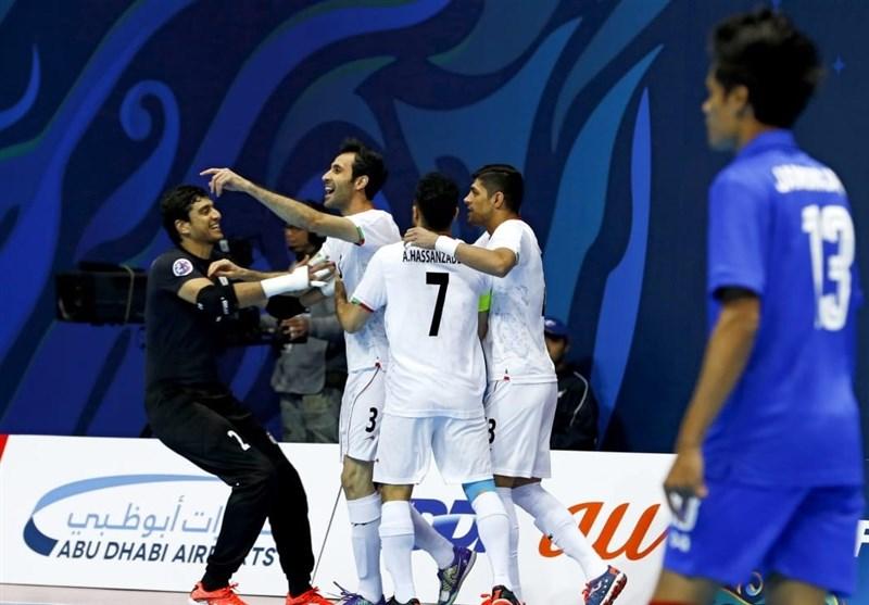 منتخب ایران یتأهل لنهائی کأس آسیا لکرة الصالات عبر فوزه على أوزبکستان