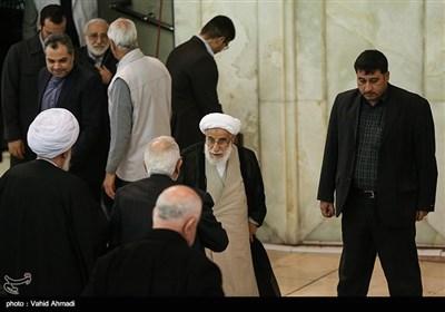 آیت الله احمد جنتی رئیس مجلس خبرگان رهبری