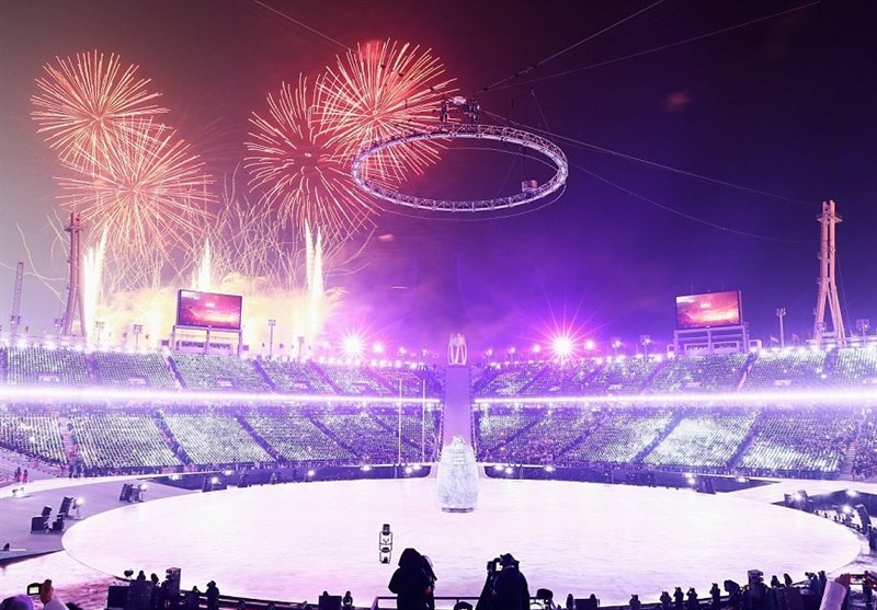 المپیک زمستانی 2018| گریه پرچمدار ایران هنگام رژه و حضور خواهر رهبر کرهشمالی در افتتاحیه