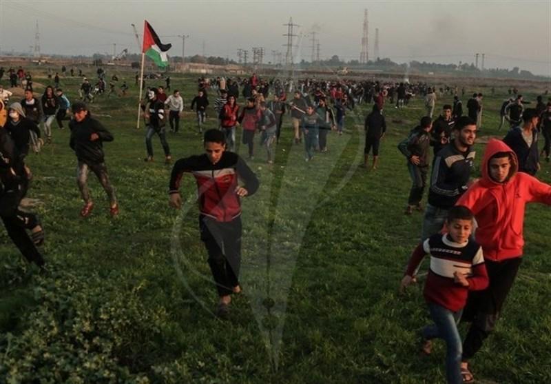 """زخمی شدن دهها فلسطینی در جمعه خشم با نام """"احمد جرار"""""""