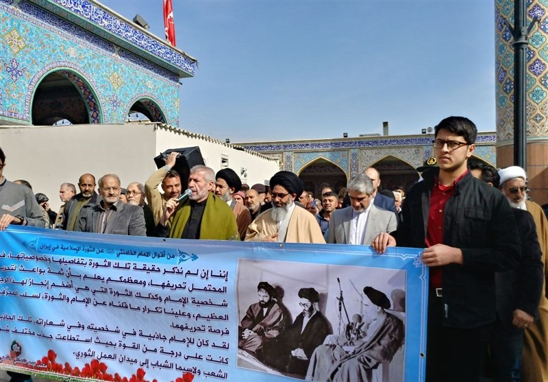39th Victory Anniversary of Iran's Islamic Revolution Marked in Syria (+Photos)