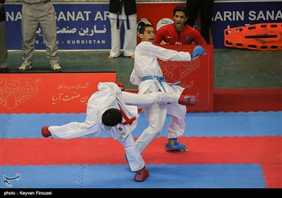مسابقات کاراته قهرمانی کشور- سنندج
